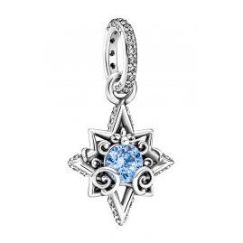 Pandora 399560C01 Silber-Anhänger Disney Cinderella Blauer Stern