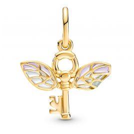 Pandora 360034C01 Anhänger Harry Potter Geflügelter Schlüssel goldfarben