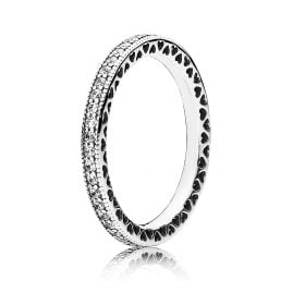 Pandora 190963CZ Ladies Ring Neverending Hearts