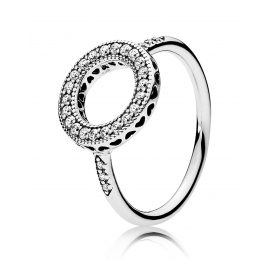 Pandora 191039CZ Ladies Ring Eternal Hearts