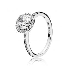 Pandora 196250CZ Ladies Ring Classical Elegance