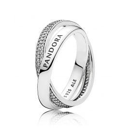 Pandora 196547CZ Damenring Versprechen