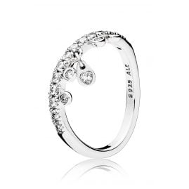 Pandora 197108CZ Ladies Ring Chandelier Droplets