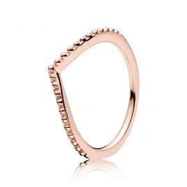 Pandora 186315 Ladies Ring Beaded Wish Rose