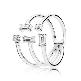 Pandora 197527CZ Ladies' Ring Shards of Sparkle