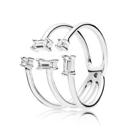 Pandora 197527CZ Damenring Shards of Sparkle
