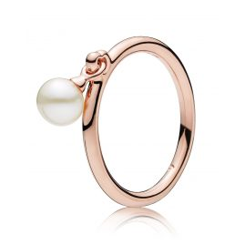 Pandora 187525P Rose Damenring Contemporary Pearl