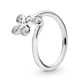 Pandora 197988CZ Ladies´ Ring Four-Petal Flower