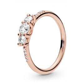 Pandora 186242CZ Rose Ladies´ Ring Sparkling Elegance