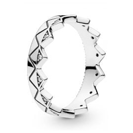 Pandora 198033CZ Ladies´ Ring Exotic Crown Silver