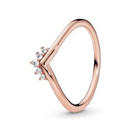 Pandora 188282CZ Rose Ring für Damen Tiara Wishbone