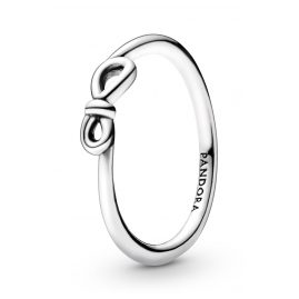 Pandora 198898C00 Women's Ring Silver Infinity Knot