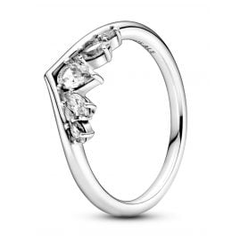 Pandora 199109C01 Ladies´ Ring Silver Sparkling Wishbone