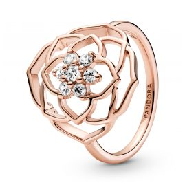 Pandora 189412C01 Ladies' Ring Rose Petals
