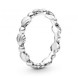 Pandora 198943C00 Silber Damenring Muschelband