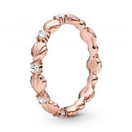 Pandora 188946C01 Rose Damen-Ring Muschelband