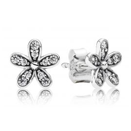 Pandora 290570CZ Ladies Earrings Glamorous Daisy