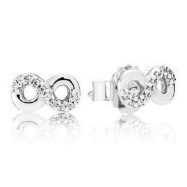 Pandora 290695CZ Stud Earrings Infinity