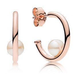 Pandora 287528P Rose Damen-Ohrringe Contemporary Pearls