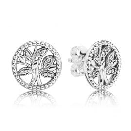 Pandora 297843CZ Ladies´ Earrings Trees of Life