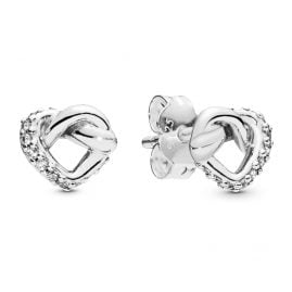 Pandora 298019CZ Damen-Ohrringe Knotted Hearts
