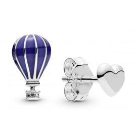 Pandora 298058EN195 Ladies´ Stud Earrings Hot Air Balloon & Heart