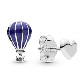 Pandora 298058EN195 Damen-Ohrstecker Heißluftballon & Herz