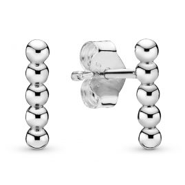 Pandora 298359 Stud Earrings for Ladies Row of Beads