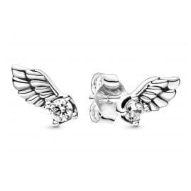 Pandora 298501C01 Damen-Ohrringe Sparkling Angel Wing