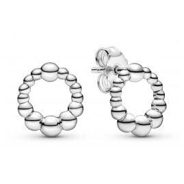 Pandora 298683C00 Damen-Ohrringe Beaded Kreis