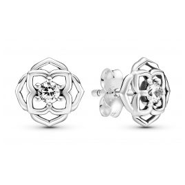 Pandora 299371C01 Ladies' Stud Earrings Rose Petals