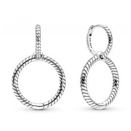 Pandora 299562C00 Women's Earrings Silver for Charms