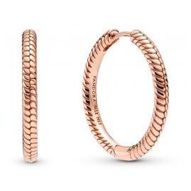 Pandora 289532C00 Charm Earrings for Ladies Rose Gold Tone