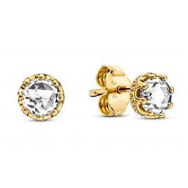 Pandora 268311C01 Women's Stud Earrings Sparkling Crowns