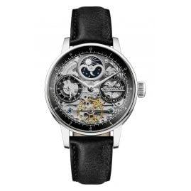 Ingersoll I07701 Herren-Armbanduhr Automatik The Jazz Skelett Schwarz 42 mm