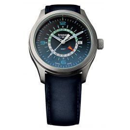 traser H3 107035 Herrenuhr P59 Aurora GMT Blue Lederband