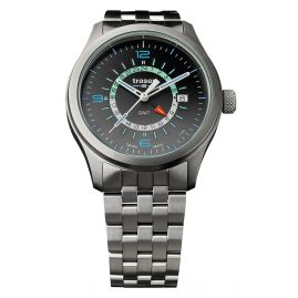 traser H3 107232 Mens Watch P59 Aurora GMT Anthracite Steel