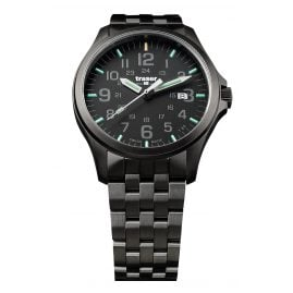 traser H3 107868 Mens Watch P67 Officer Pro Gun Metal Black