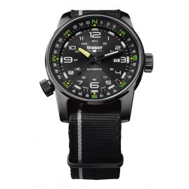 traser H3 107718 Mens Watch P68 Pathfinder Automatic Black