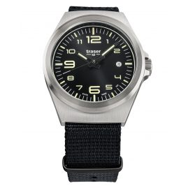 traser H3 108638 Men´s Wristwatch P59 Essential M Black
