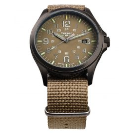 traser H3 108631 Men´s Wristwatch P67 Officer Pro Gunmetal/Khaki