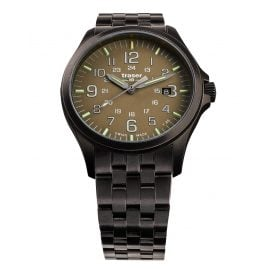 traser H3 108738 Men´s Wristwatch P67 Officer Pro Gunmetal/Khaki