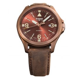 traser H3 108073 Automatic Men´s Watch P67 Officer Pro Brown