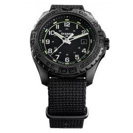 traser H3 108673 Herren-Armbanduhr P96 OdP Evolution Schwarz
