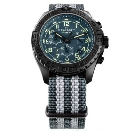 traser H3 109050 Men's Watch P96 OdP Evolution Chrono Teal