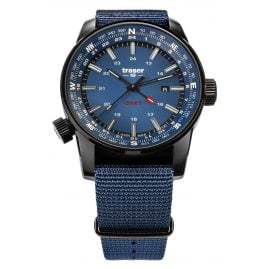traser H3 109034 Men's Watch Pathfinder GMT Blue