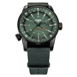 traser H3 109035 Men's Watch Pathfinder GMT Green