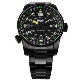 traser H3 109522 Men's Automatic Watch P68 Pathfinder Black