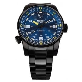 traser H3 109523 Men's Watch Automatic P68 Pathfinder Blue