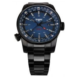 traser H3 109524 Men's Watch P68 Pathfinder GMT Blue